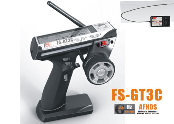 #RS07 FS-GT3C 2.4GHz 3CH System